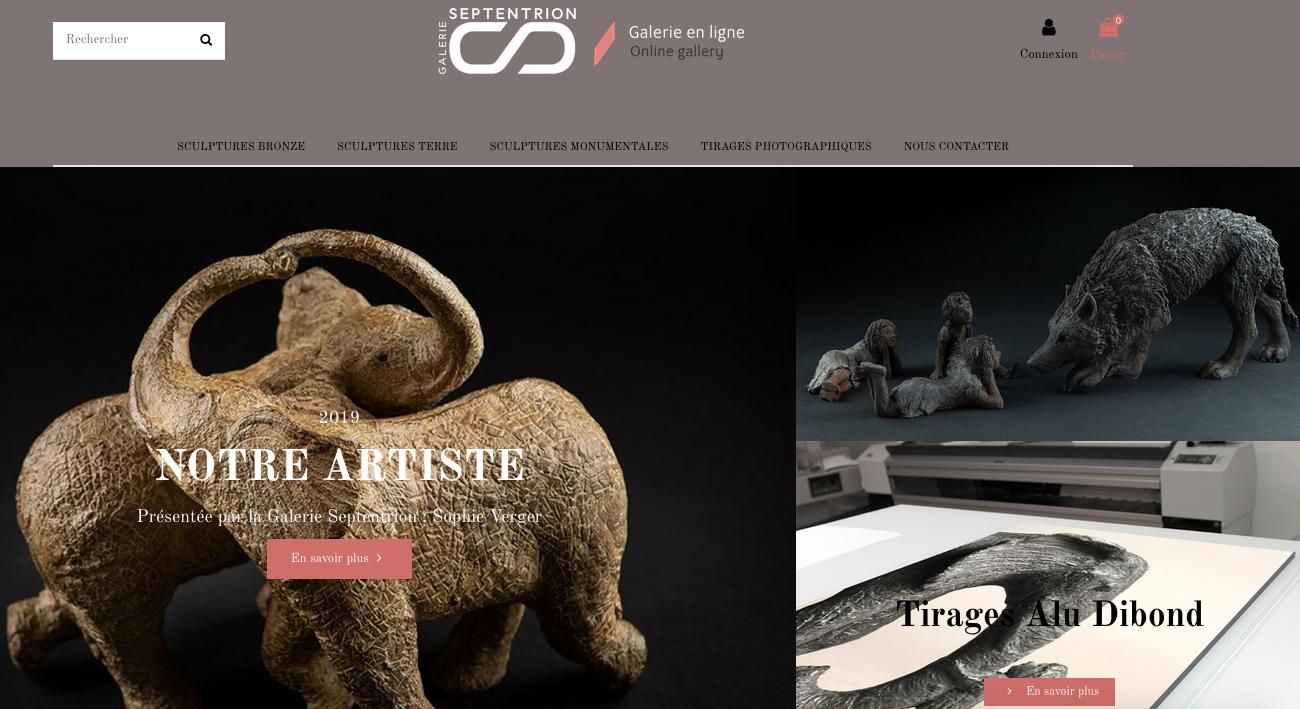Site ecommerce Prestashop Unami Store