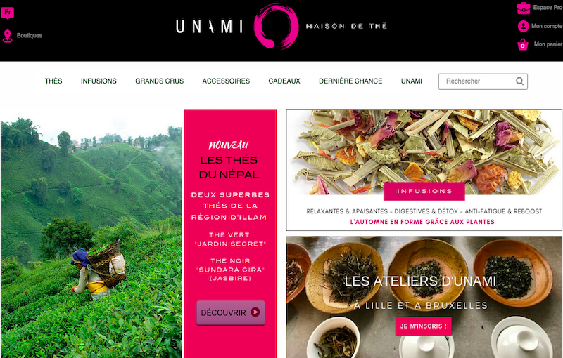 Projet Refonte site Ecommerce Prestashop Unami